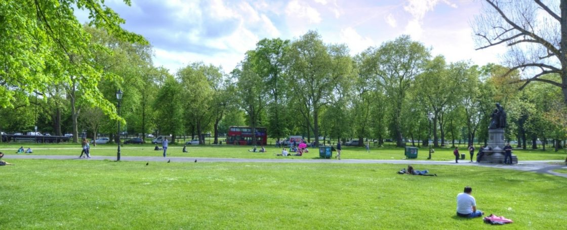 A view over Clapham Common