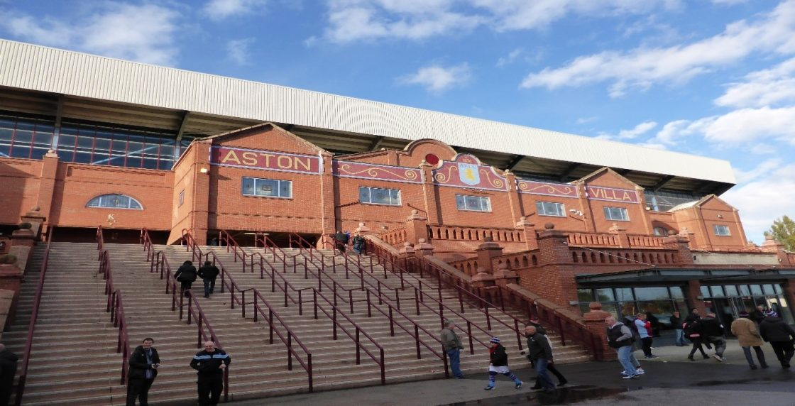 Villa Park home of Aston Villa Football Club