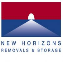 New Horizons Removals and Storage Ltd Logo