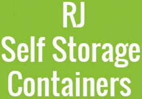 RJ Self Storage Containers Logo