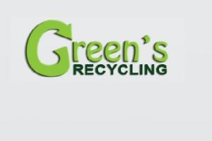Green's Recycling Logo