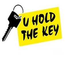 U Hold The Key Logo