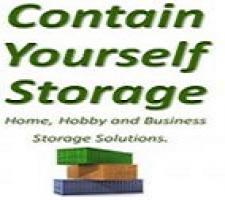 Contain Yourself Storage Logo