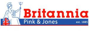 Britannia Pink and Jones Logo