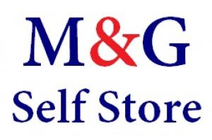 M and G Self Store Logo
