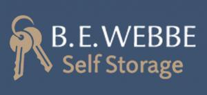 B.E. Webbe Self Storage Logo