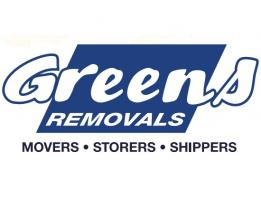 Greens Removals and Storage Ltd Logo