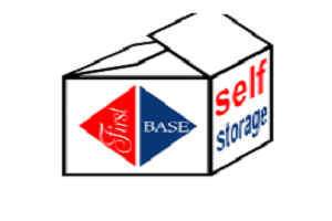 First Base Self-Storage Logo