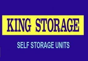 King Storage Sign