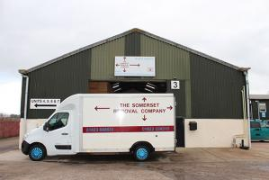 Somerset removal company van