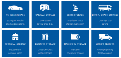 types of storage