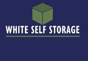 White Self Storage Logo