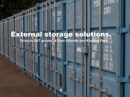 24/7 access to external container storage
