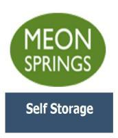 Meon Springs Self Storage Logo