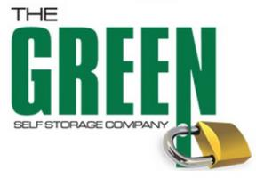 The Green Self Storage Company Logo