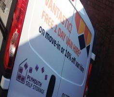 Plymouth Self Storage Van