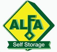 Alfa Self Storage Logo
