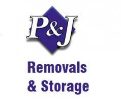 P & J Removals & Storage Logo