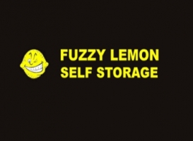 Fuzzy Lemon Self Storage Logo