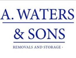 A Waters and Sons Logo